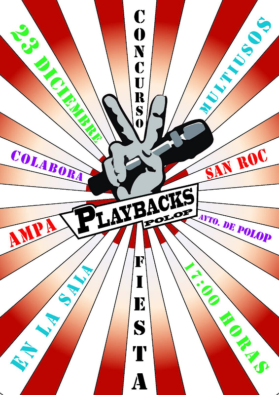 Fiesta concurso de Playbacks
