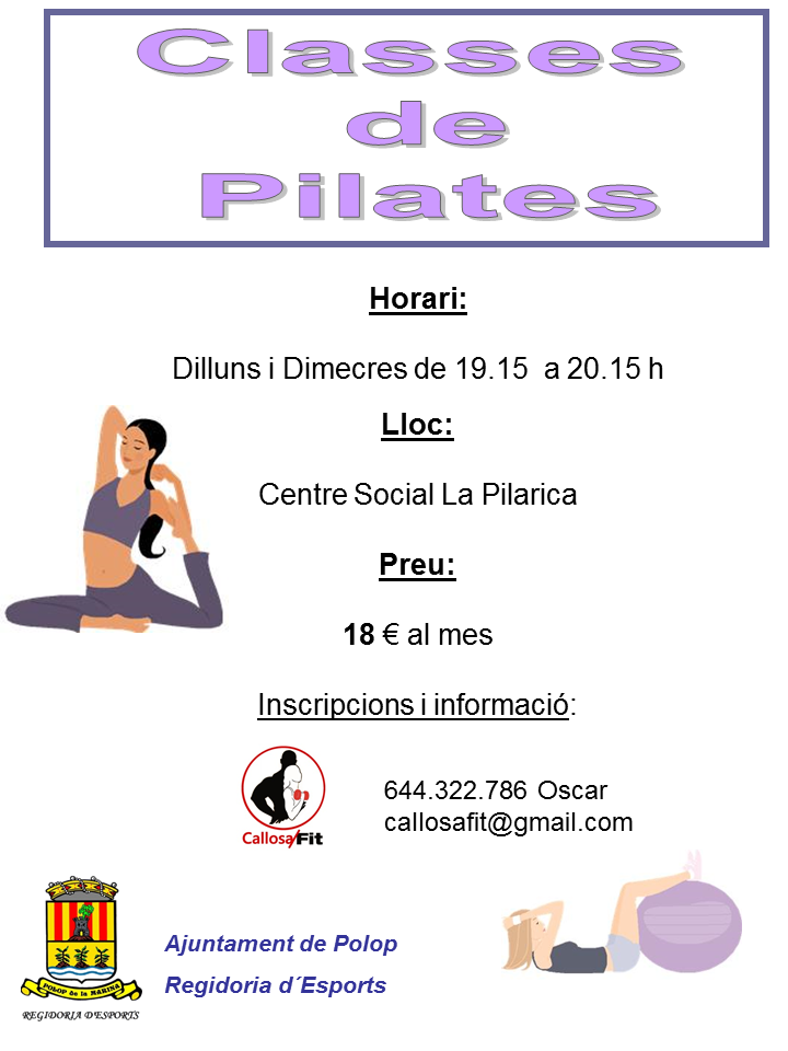 Classes de pilates